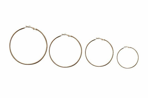 Coterie Micro Simple Hoop Earring - Alora Boutique - Jewelry with meaning that gives back fashion for good