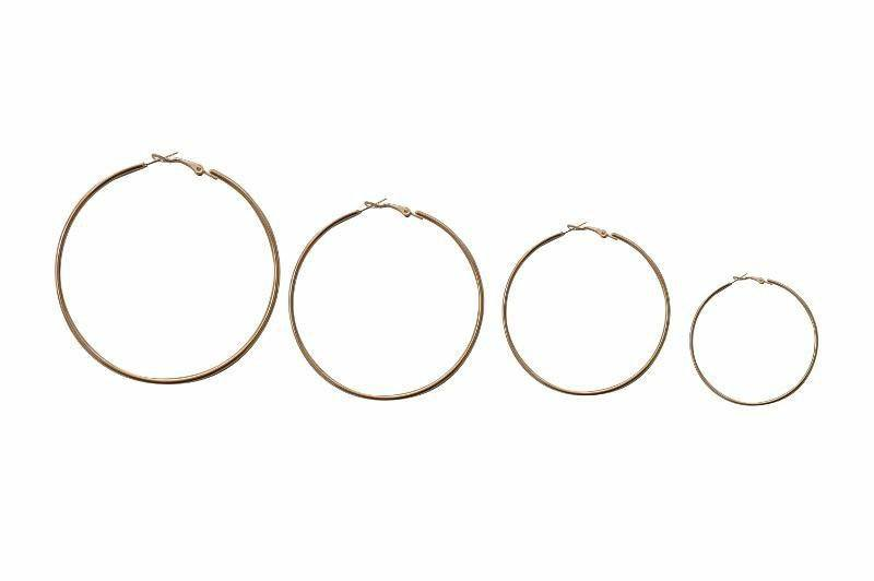 Coterie Mini Simple Hoop Earring - Alora Boutique - Jewelry with meaning that gives back fashion for good