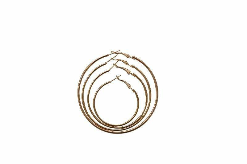 Coterie Maxi Simple Hoop Earring - Alora Boutique - Jewelry with meaning that gives back fashion for good