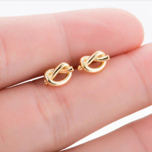 Knot Stud Earrings Earrings Alora Boutique