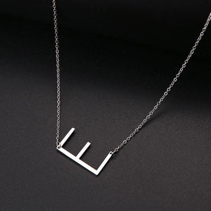 Monogram Collection Initial Necklace (Pre Order) - Alora Boutique
