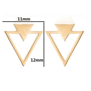 Double Mountain Stud Earrings Earrings Alora Boutique