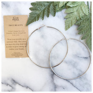 Allison- True Beauty Hoop Earrings