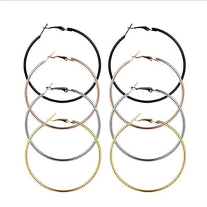 Allison Hoop Earrings - 3+ Colors to Choose From Earrings Alora Boutique