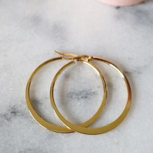 Katrina | Simple Hoop Earrings