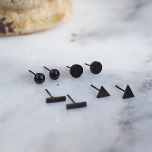 Jinny - Minimalist Stud Earring Set (Pre-Order) Earrings Alora Boutique