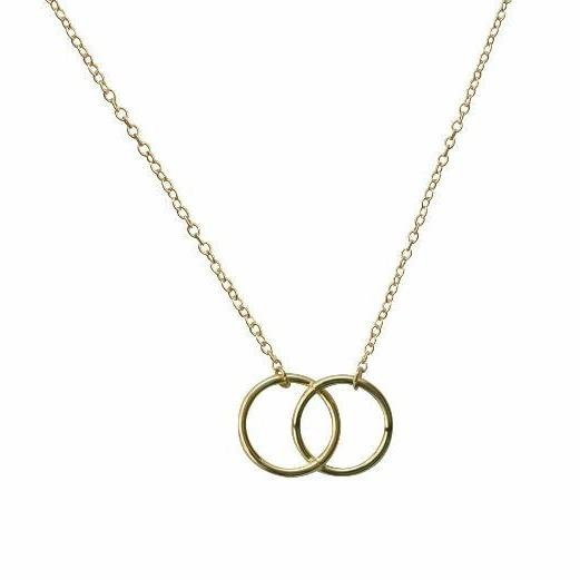 Chailyn Interlocking Circle Necklace Necklace Alora Boutique