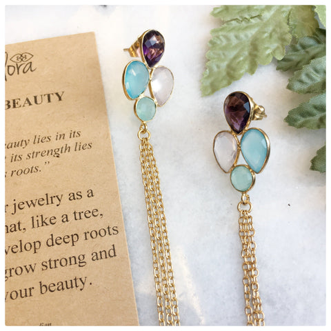 Yoona -  True Beauty Statement Dangle Earrings