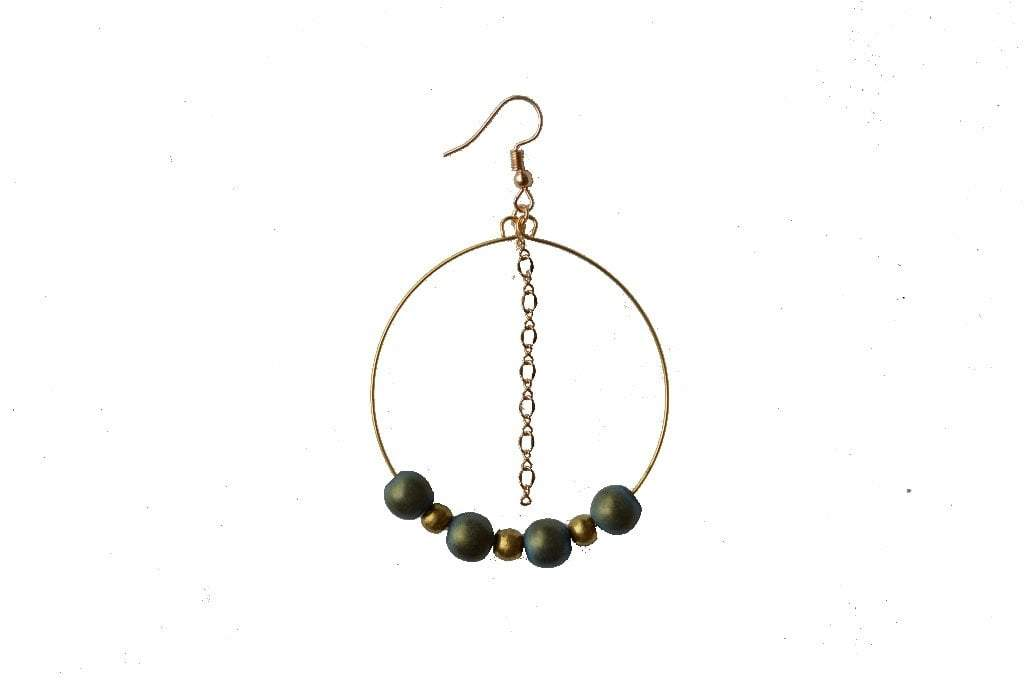 Harmony Hoop Earrings - Alora Boutique - Jewelry with meaning that gives back fashion for good