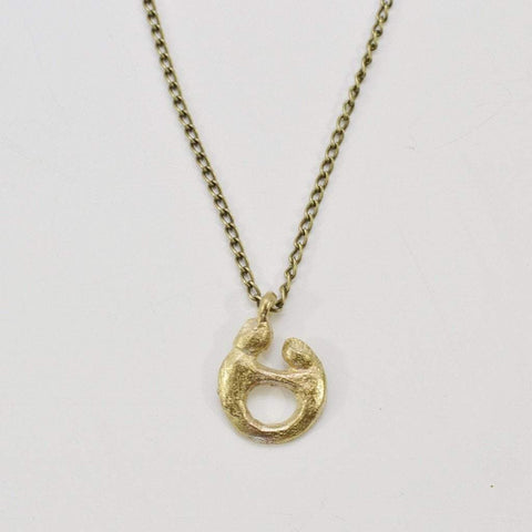 Mother and Child Necklace - Alora Boutique  - 1