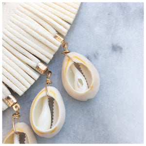 Bridgette - True Beauty Statement Puka Shell Necklace Necklace Alora Boutique