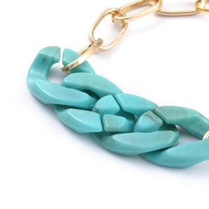 Chanda | Resin Chain Bracelet - Alora Boutique