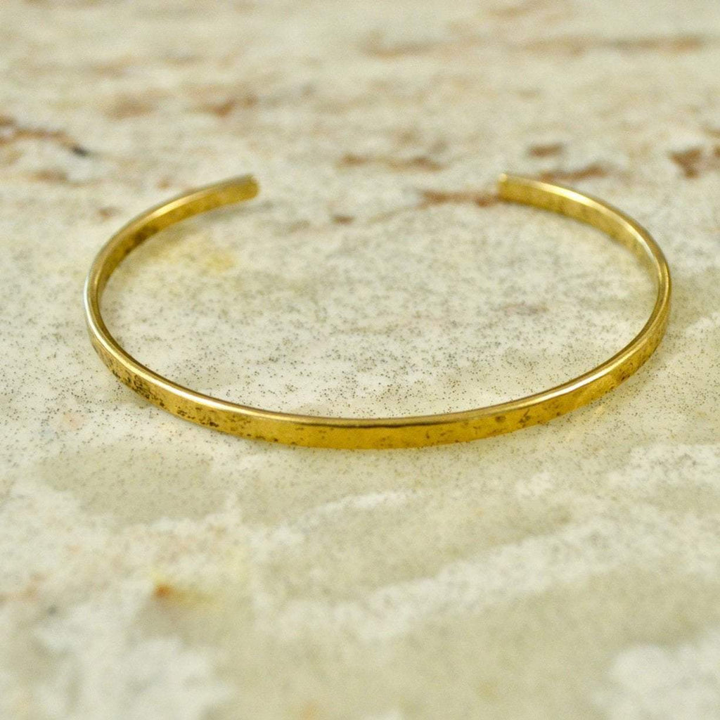 Your Shine is One of a Kind | Simple Bangle | Brass
