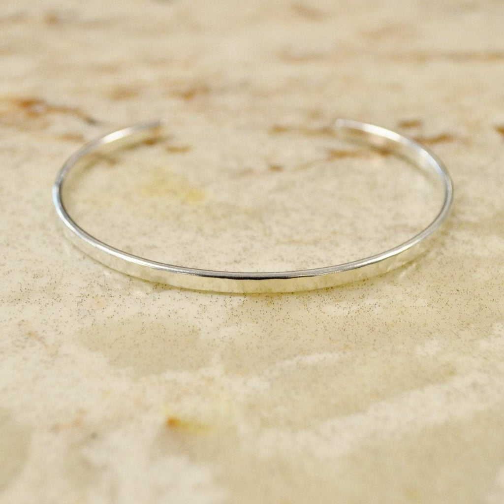 Your Shine is One of a Kind | Simple Bangle | Silver