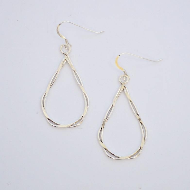 Your Shine is One of a Kind | Laurie Earrings  | Sterling Silver