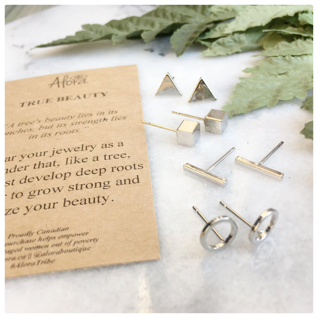 Lia -  True Beauty Stud Earring Set