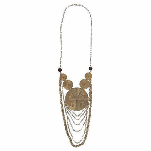 Alanna Statement Necklace - Alora Boutique - Jewelry with meaning that gives back fashion for good