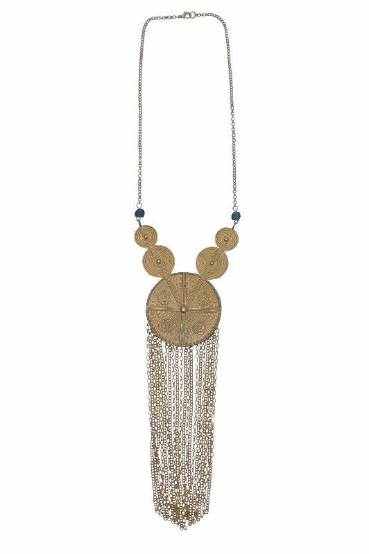 Allie Statement Fringe Necklace - Alora Boutique