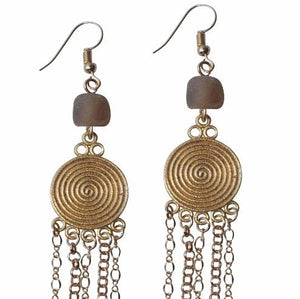Amani Statement Earrings - Alora Boutique - Jewelry with meaning that gives back fashion for good