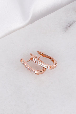 Brincos Simple Rose Gold