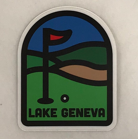 Golf Green Sticker