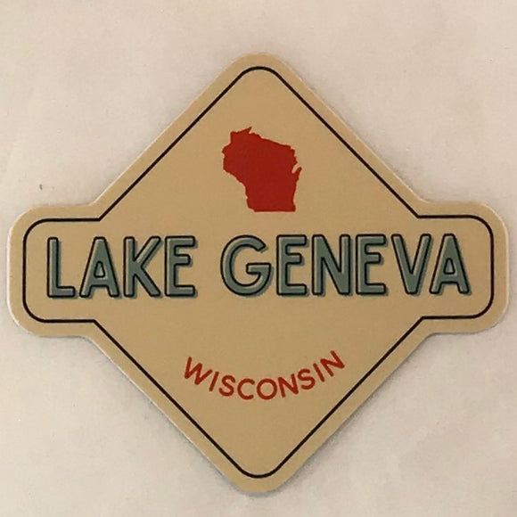 Wisconsin Label Sticker