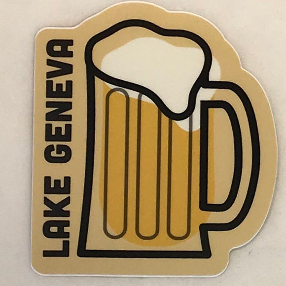 Beer Mug Sticker