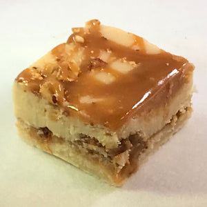 Salted Nut Roll Fudge