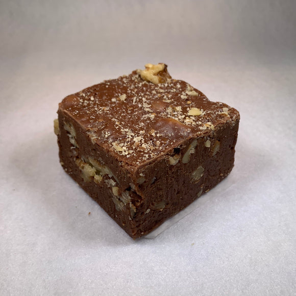 Milk Chocolate Walnut Fudge