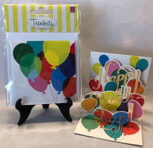 Balloon Bouquet Birthday Card