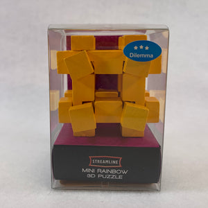 Mini Yellow 3D Puzzle