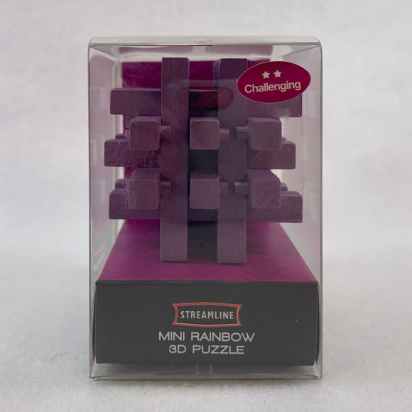 Mini Purple 3D Puzzle
