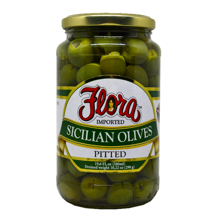 OLIVES SICILIAN PITTED