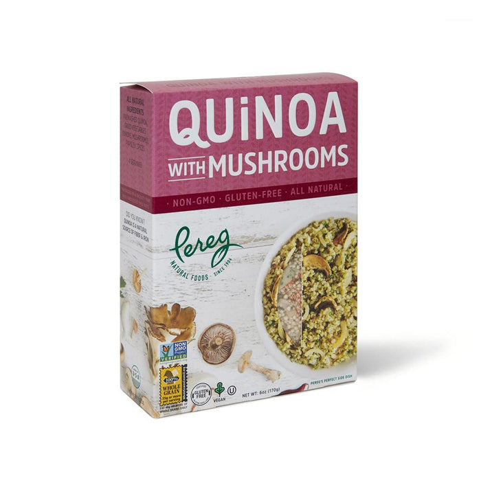 Quinoa Mushrooms