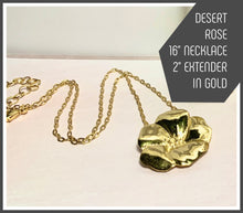 Load image into Gallery viewer, Tracy Marlow New York --DESERT ROSE NECKLACE