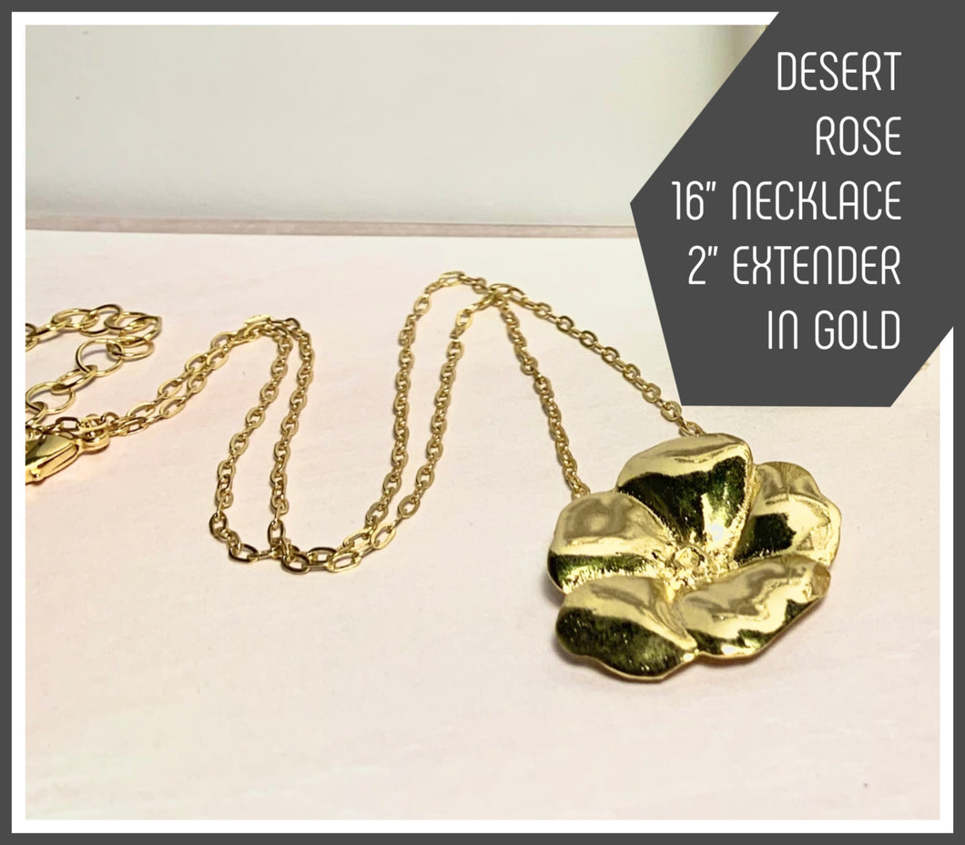 Tracy Marlow New York --DESERT ROSE NECKLACE