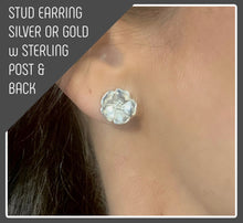 Load image into Gallery viewer, Tracy Marlowe New York --TINY STUD EARRING