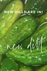 The Perfect Pickle --New Dill