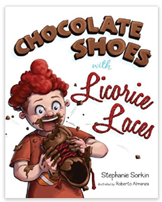 Stephanie Sorkin--Chocolate Shoes with Licorice Laces