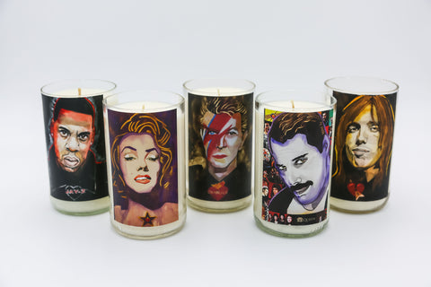 William K. Stidham Sacred Heart Series Candles
