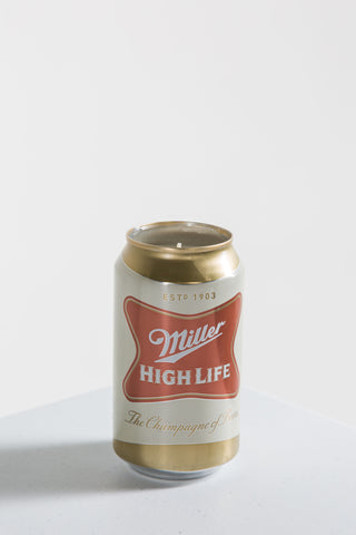 Miller High Life Candle