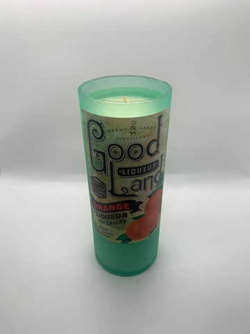 Great Lake Distillery Good Land Liquer Candle