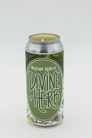 Hacienda Brewing Co.: Divine Herbs Tall Boy Candle