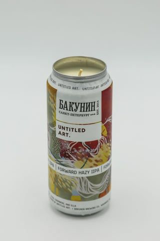 Untitled Art Forward Hazy IIPA Tall Boy Candle