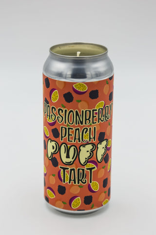The Brewing Projekt PassionBerry Peach Puff Tart Tall Boy Candle