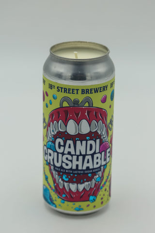 18th Street Brewing Candy Crushable Tall Boy Candle