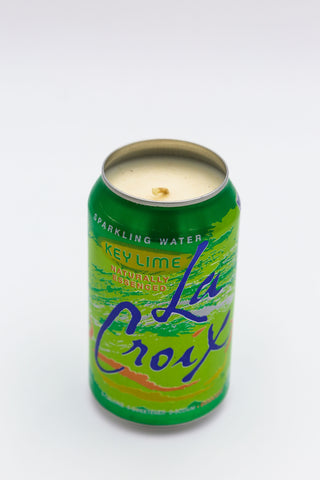 Key Lime La Croix Candle