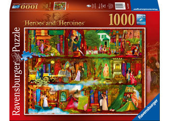 Ravensburger 1000 Piece Jigsaw - Heroes and Heroines