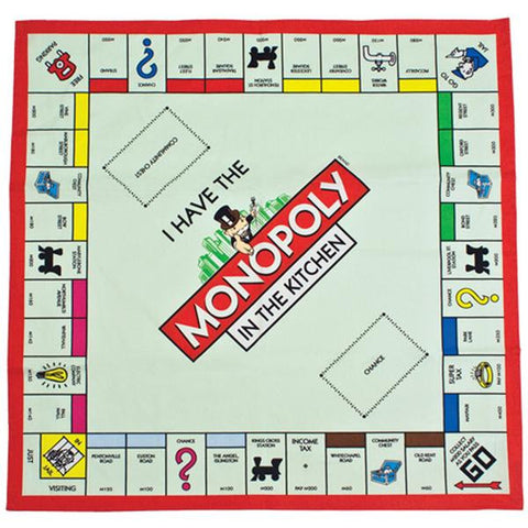 Monopoly Tea Towel