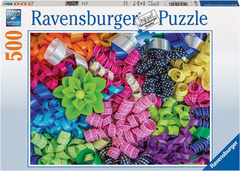 Ravensburger 500 Piece Jigsaw - Colorful Ribbons